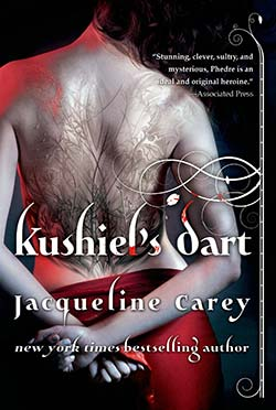New release of Kushiel's Dart with redesigned cover art - click to purchase trade paperback from Amazon