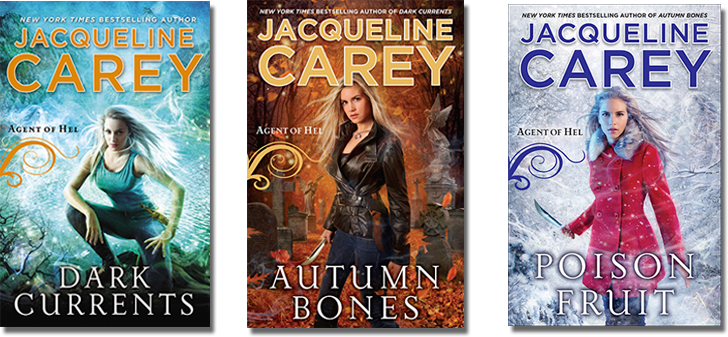 Agent of Hel Trilogy by Jacqueline Carey