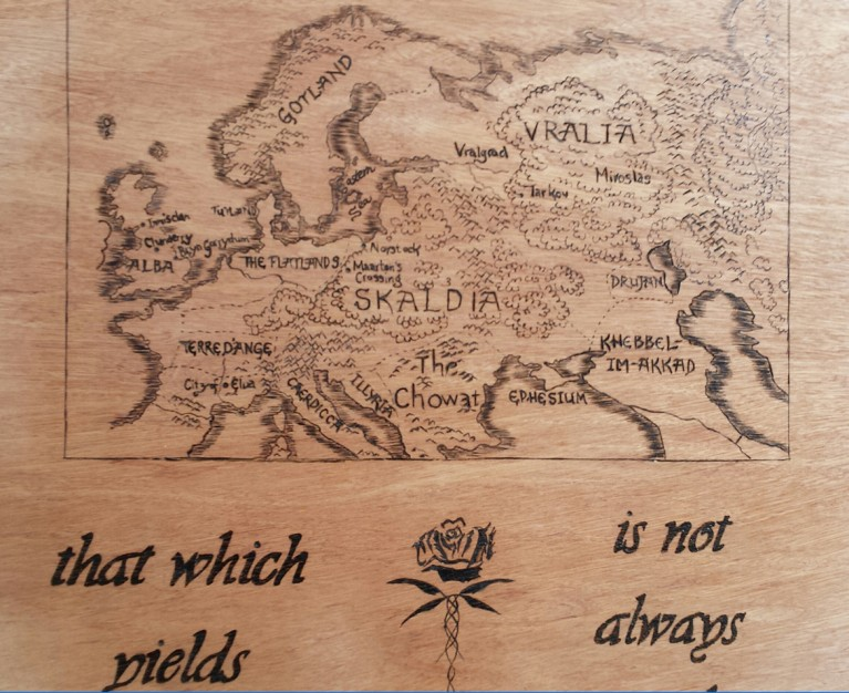 Kushiel Map