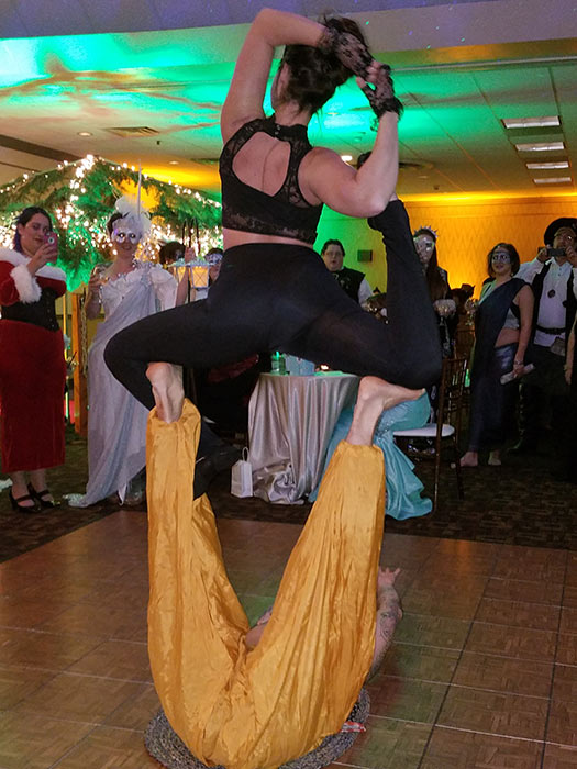 Acrobats at the Longest Night Ball