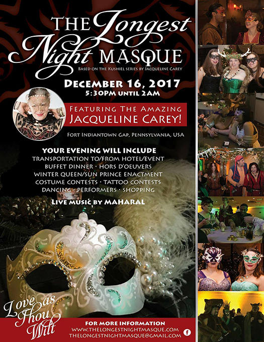 Longest Night Masque Flyer
